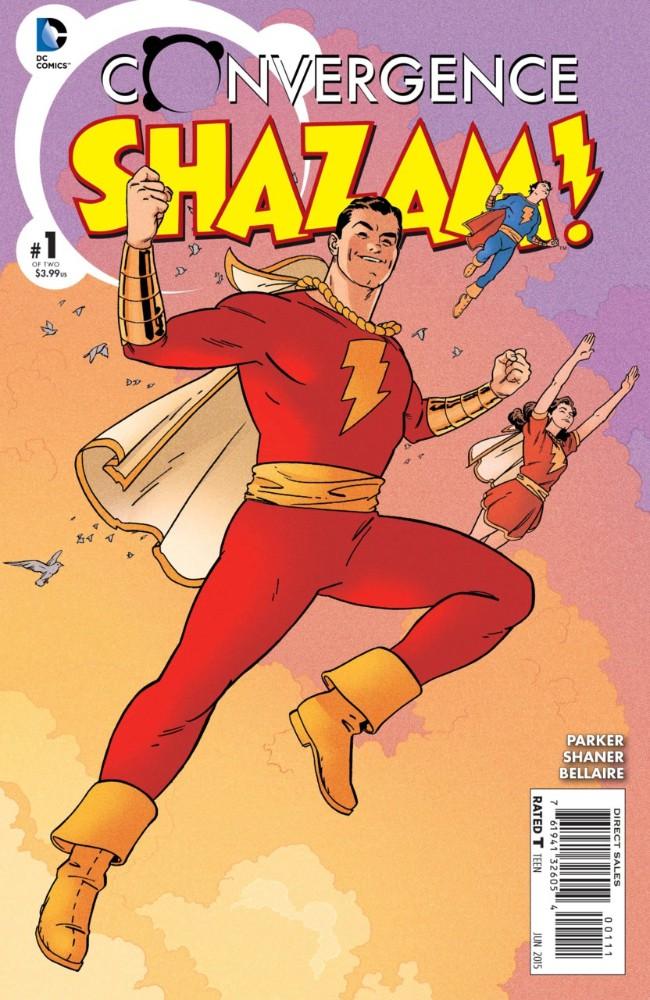 Couverture de Convergence Shazam! (2015) -1- Return of the Thunder