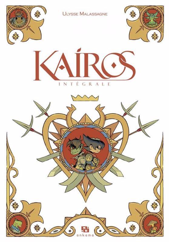 Couverture de Kairos -INT- Intégrale