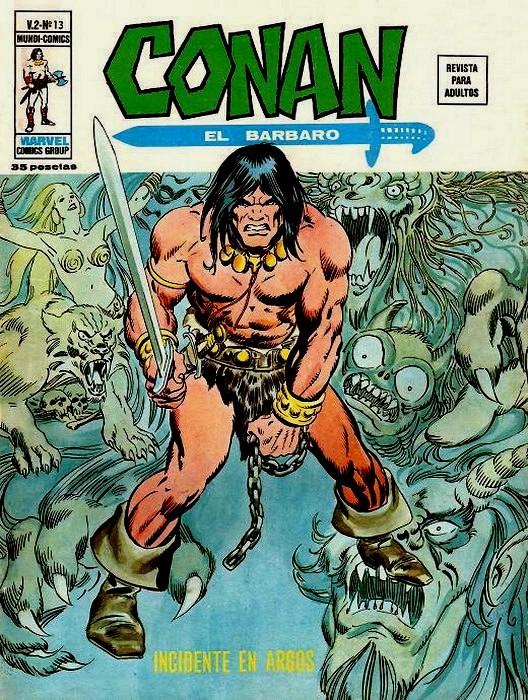 Couverture de Conan (Vol. 2) -13- Incidente en Argos