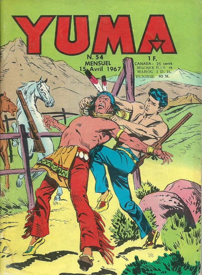 Couverture de Yuma (1re série) -54- La capture de Kit