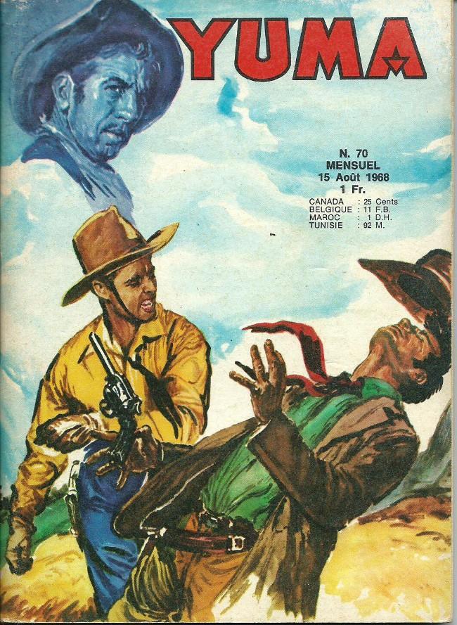 Couverture de Yuma (1re série) -70- Le mystére de l'indien