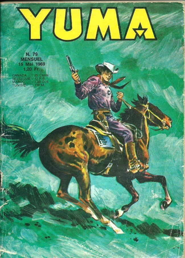 Couverture de Yuma (1re série) -79- Le petit ranger