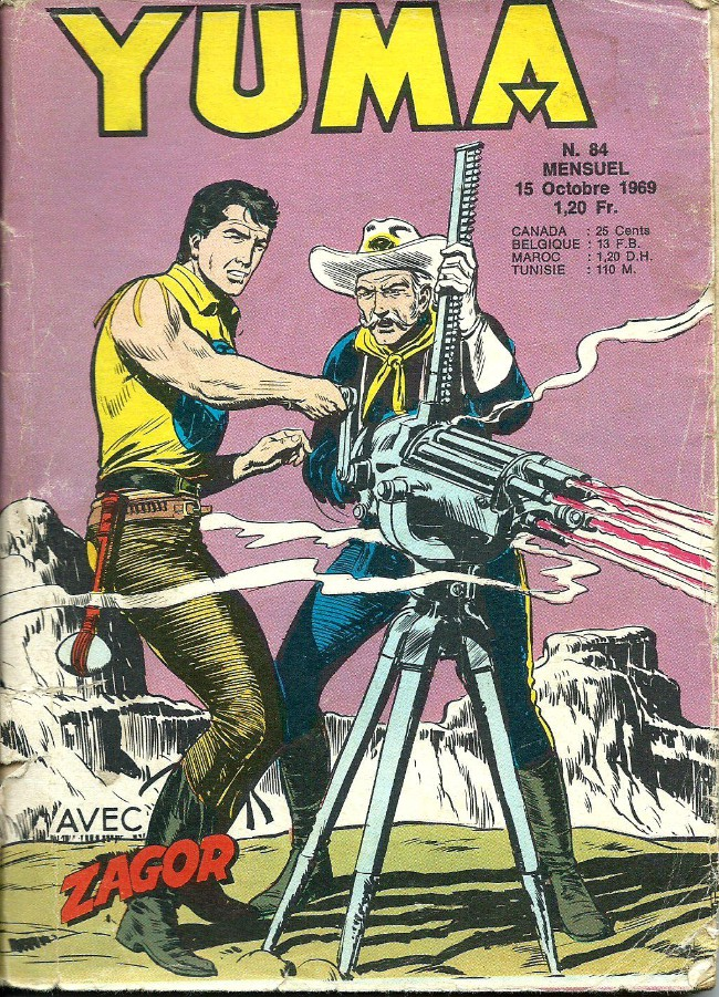 Couverture de Yuma (1re série) -84- Le petit ranger