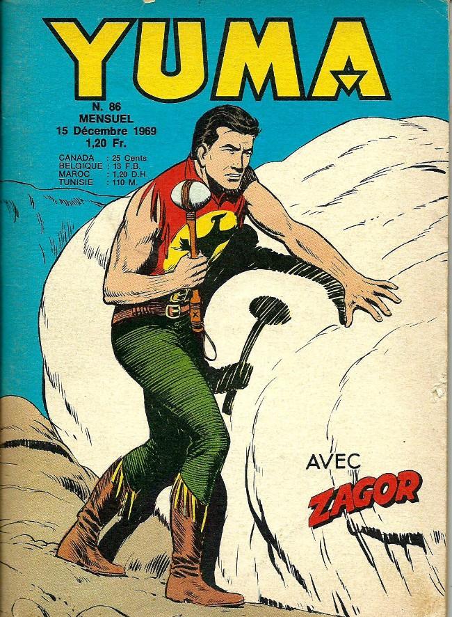 Couverture de Yuma (1re série) -86- Le petit ranger