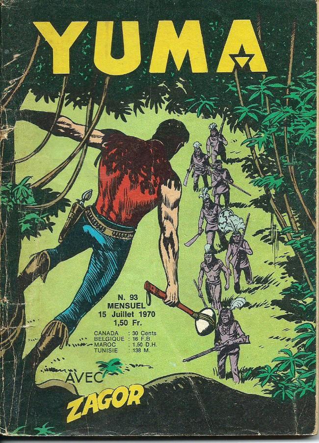 Couverture de Yuma (1re série) -93- Le petit ranger