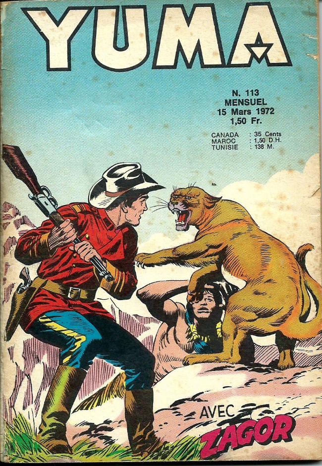 Couverture de Yuma (1re série) -113- Le petit ranger