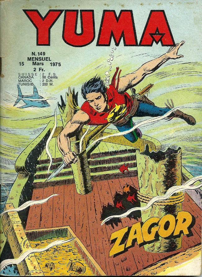 Couverture de Yuma (1re série) -149- Capitaine serpent