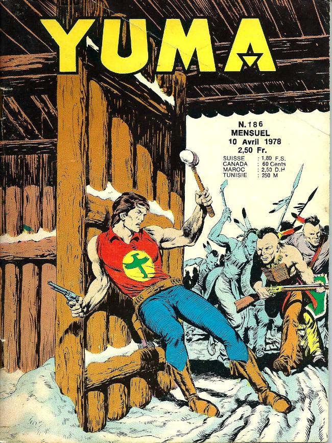 Couverture de Yuma (1re série) -186- La chute de Borisgrad