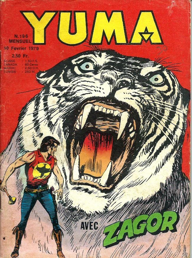 Couverture de Yuma (1re série) -196- L'énigme du tigre