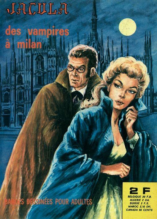 Couverture de Jacula -15- Des vampires à Milan