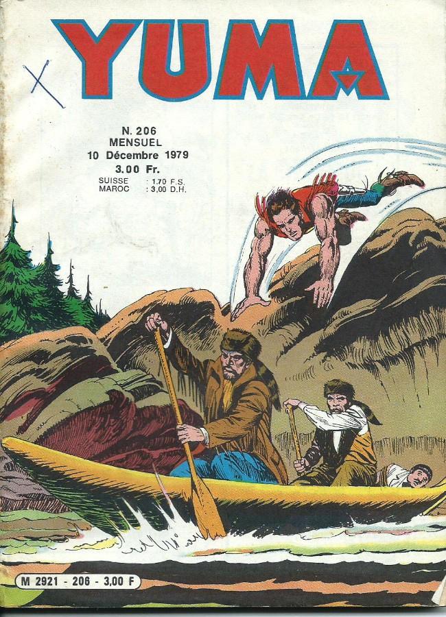 Couverture de Yuma (1re série) -206- La fièvre de l'or