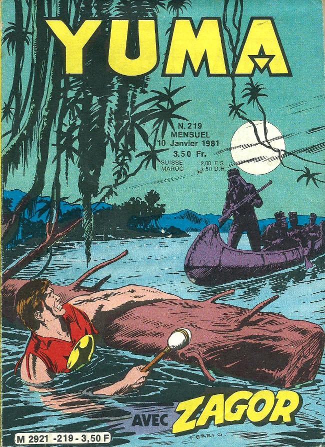 Couverture de Yuma (1re série) -219- Folle poursuite