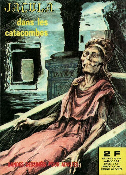 Couverture de Jacula -19- Dans les catacombes