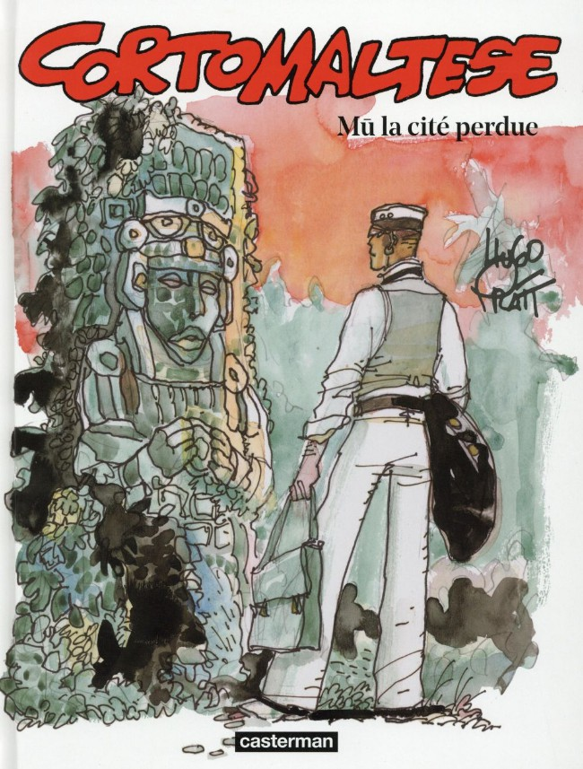 Couverture de Corto Maltese (2015 - Couleur Format Normal) -12- Mû, La Cité perdue