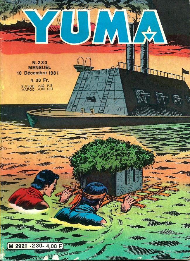 Couverture de Yuma (1re série) -230- Trahison
