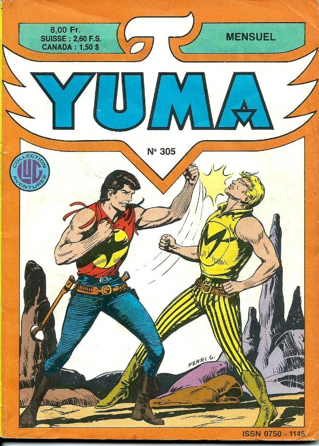 Couverture de Yuma (1re série) -305- L'exploit de Chico