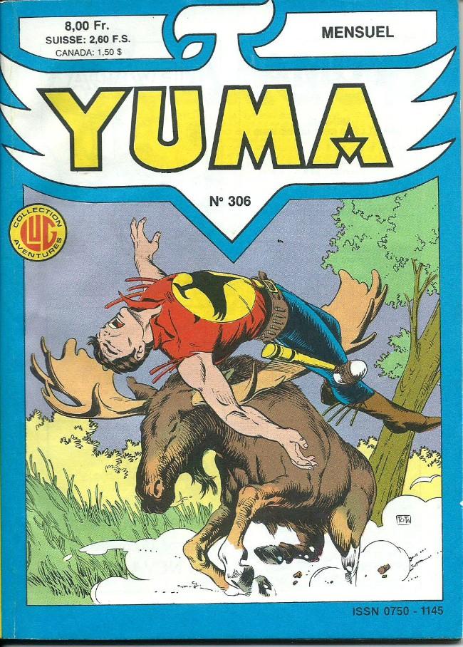 Couverture de Yuma (1re série) -306- La flèche à cinq plumes