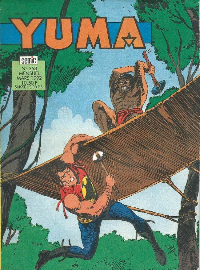 Couverture de Yuma (1re série) -353- Zagor