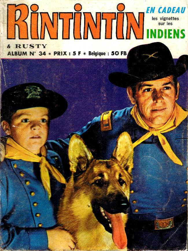 Couverture de Rin Tin Tin & Rusty (2e série) -Rec34- Album N°34 (du n°12 au n°14)