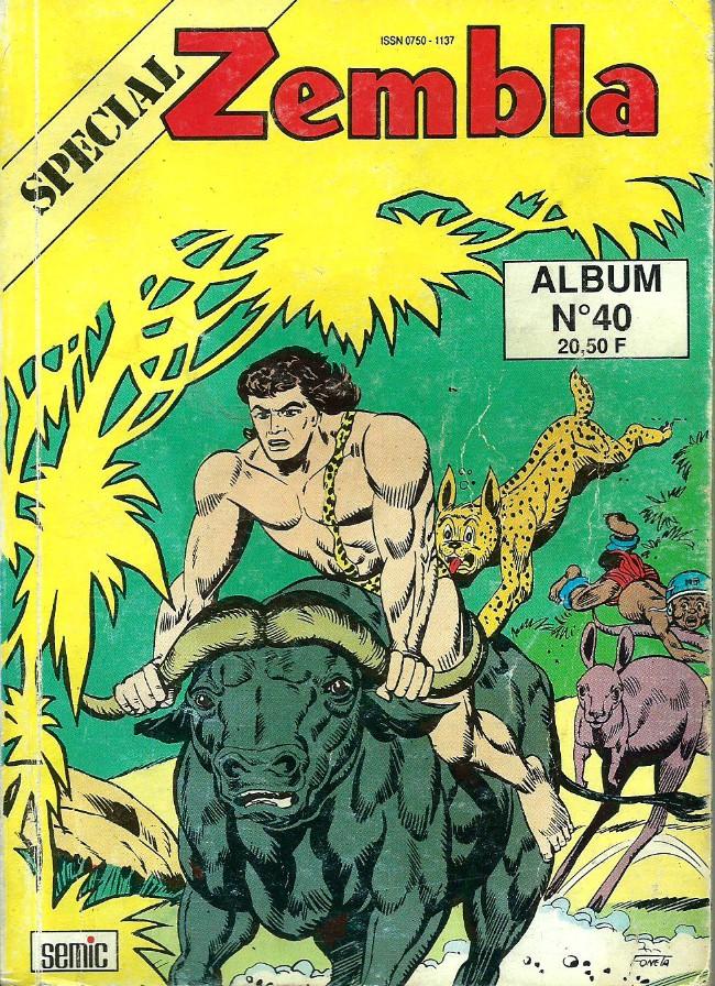 Couverture de Zembla (Spécial) -Rec40- Album N°40 (du n°119 au n°121)