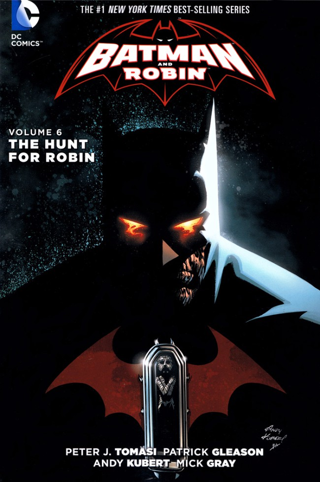 Couverture de Batman and Robin (2011) -INT06- The Hunt for Robin