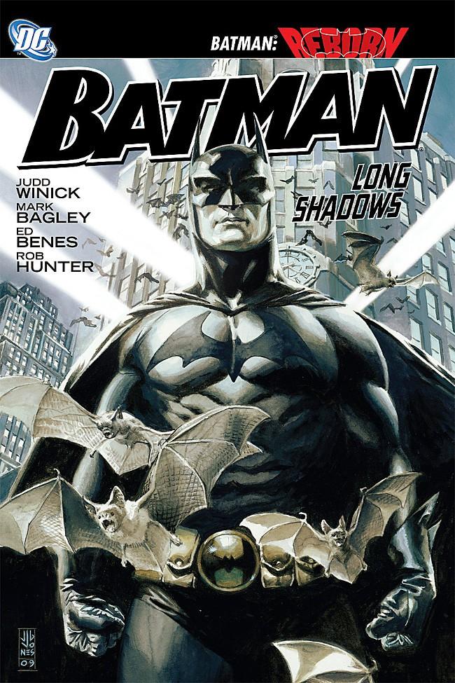 Couverture de Batman (1940) -INT- Long Shadows