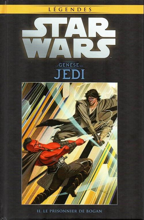 Couverture de Star Wars - Légendes - La Collection (Hachette) -32- La Genèse des Jedi - II. Le prisonnier de Bogan
