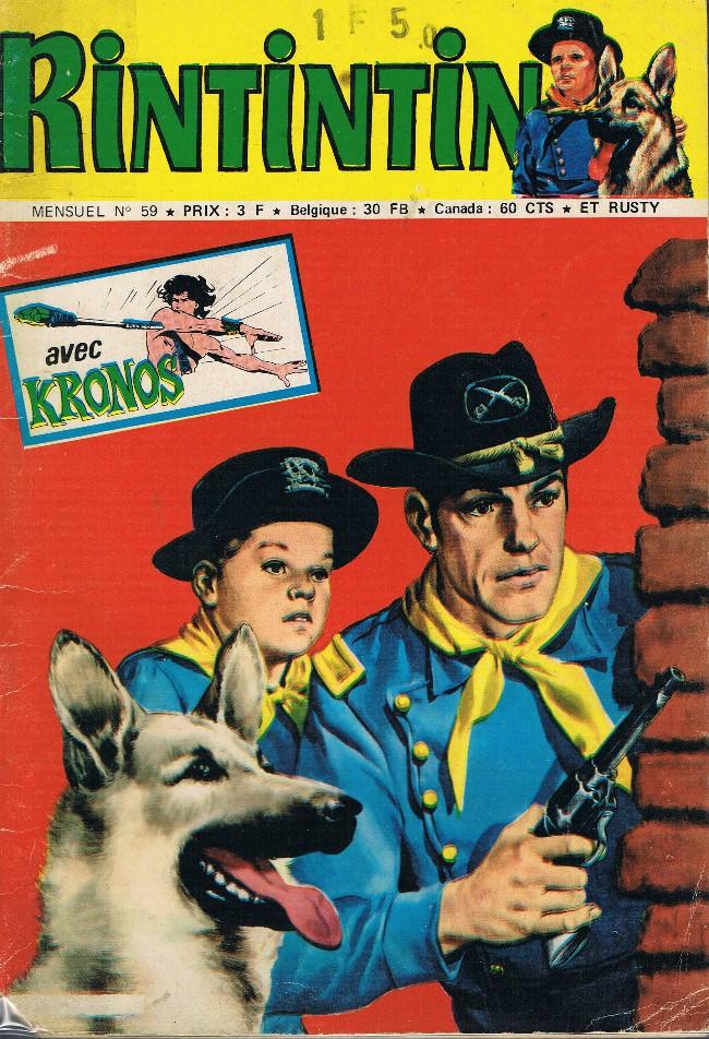 Couverture de Rin Tin Tin & Rusty (2e série) -59- Le justicier des Comanches