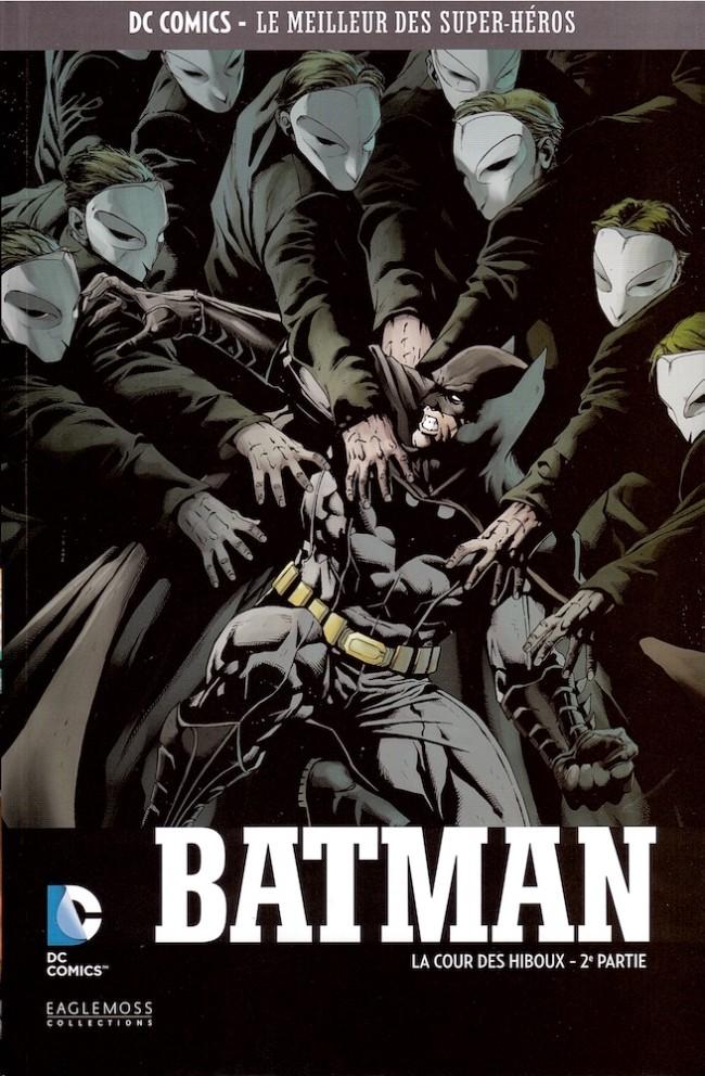 Couverture de DC Comics - Le Meilleur des Super-Héros -8- Batman - La Cour des hiboux - 2e partie