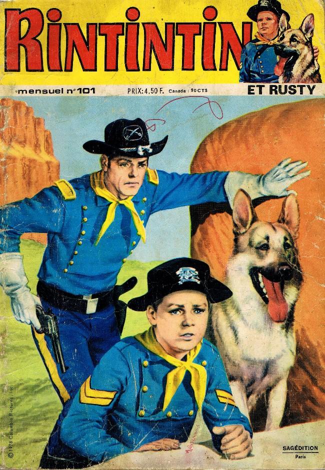 Couverture de Rin Tin Tin & Rusty (2e série) -101- L'épopée héroïque du 101ème U.S Cavalry