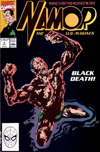 Couverture de Namor, The Sub-Mariner (Marvel - 1990) -4- Black water