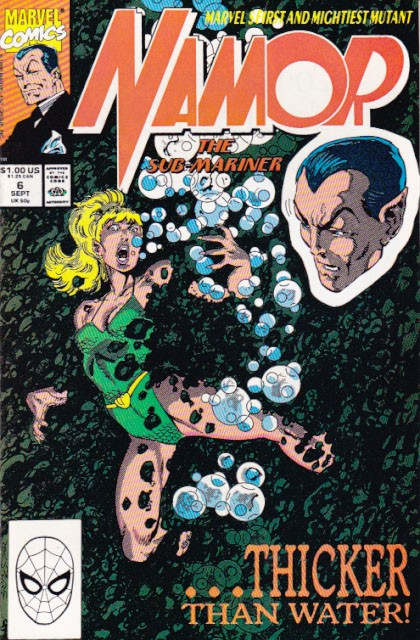 Couverture de Namor, The Sub-Mariner (Marvel - 1990) -6- Out of sight - out of mind