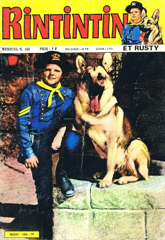 Couverture de Rin Tin Tin & Rusty (2e série) -160- Le dieu soleil
