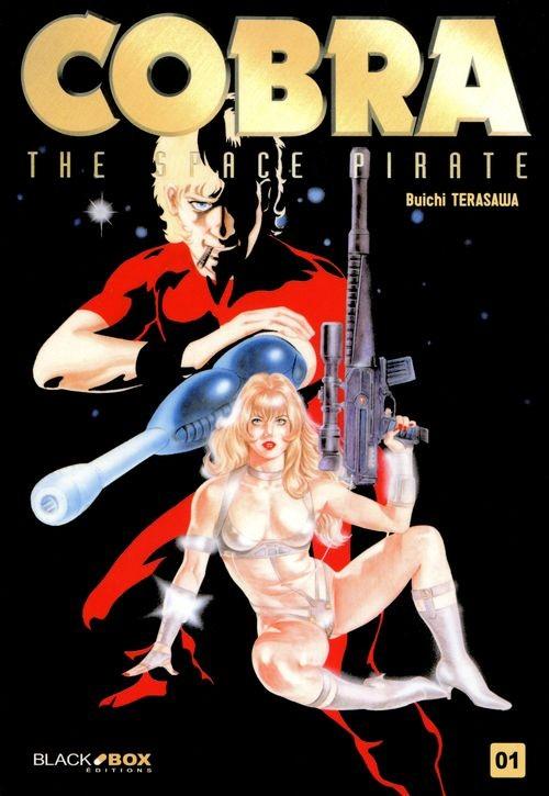 Couverture de Cobra - The Space Pirate (Black Box Éditions) -1- Tome 1