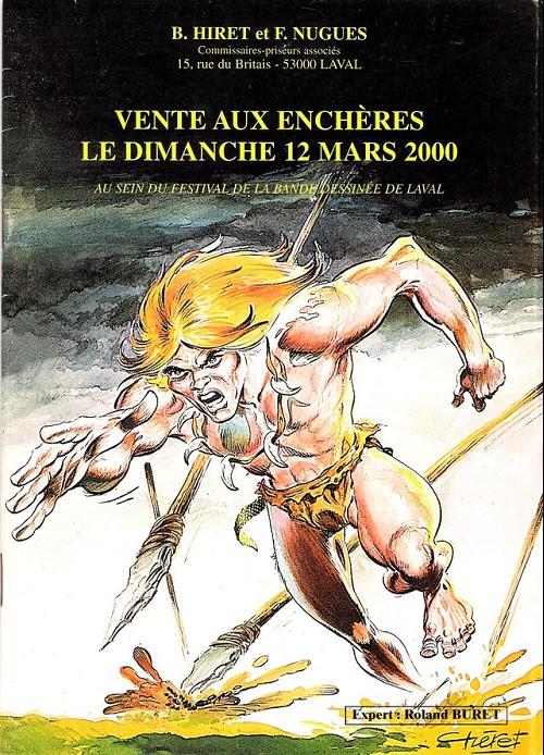 Couverture de (Catalogues) Ventes aux enchères - Divers - Hiret & Nugues - dimanche 12 mars 2000 - Laval