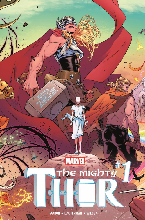Couverture de Mighty Thor (The) (2016) -1- Thunder in her veins