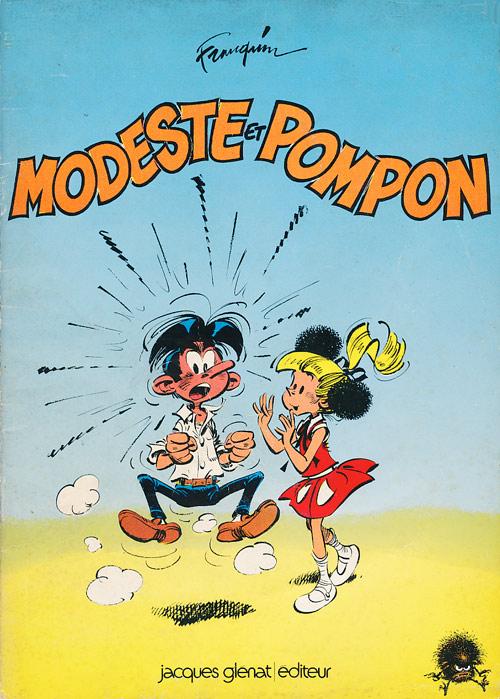 Couverture de Modeste et Pompon (Franquin) -4- Modeste et Pompon