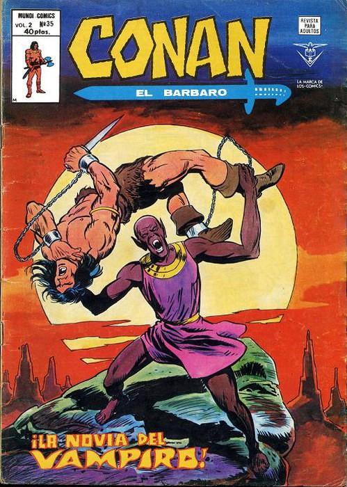 Couverture de Conan (Vol. 2) -35- ¡La Novia del Vampiro!