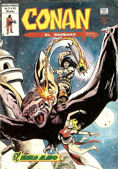 Couverture de Conan (Vol. 2) -43- El Diablo Alado