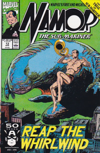 Couverture de Namor, The Sub-Mariner (Marvel - 1990) -13- Reap the whirlwind