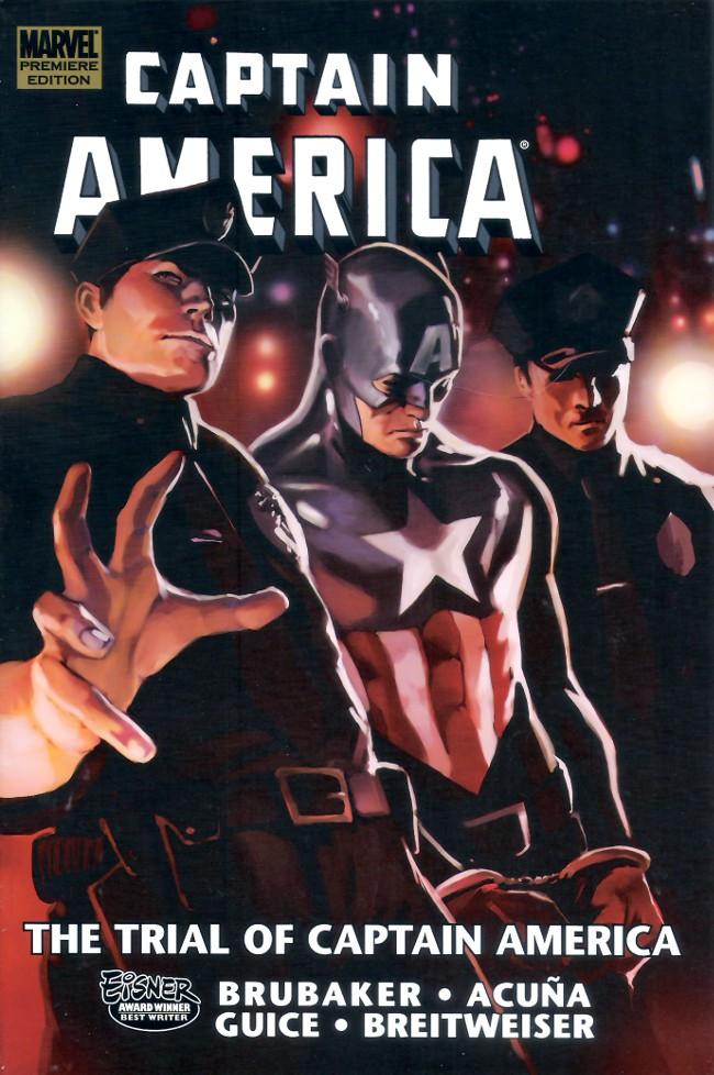 Couverture de Captain America (Marvel comics - 1968) -INT13- The Trial of Captain America