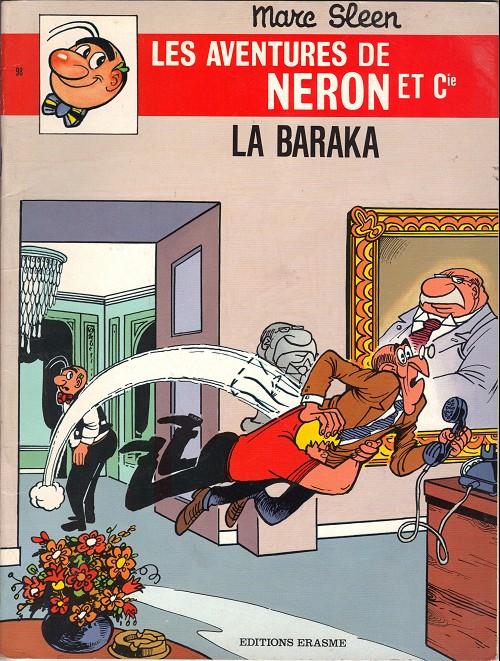 Couverture de Néron et Cie (Les Aventures de) (Érasme) -98- La baraka