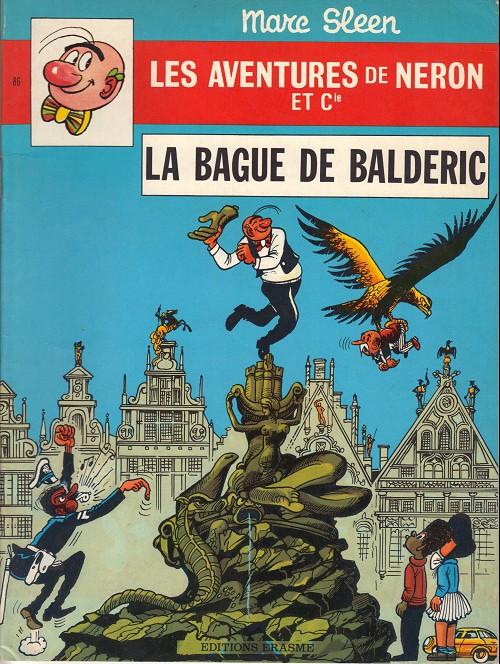 Couverture de Néron et Cie (Les Aventures de) (Érasme) -86- La bague de baldéric