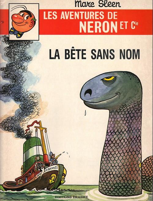 Couverture de Néron et Cie (Les Aventures de) (Érasme) -94- La bête sans nom