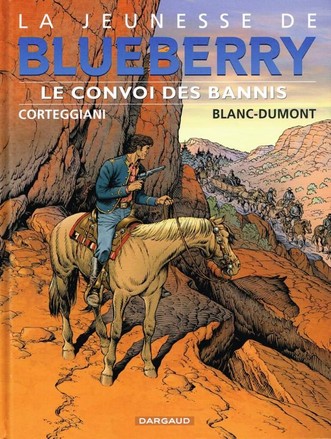 Couverture de Blueberry (La Jeunesse de) -21- Le convoi des bannis