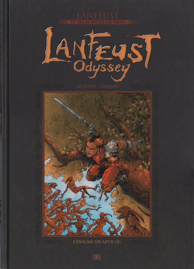 Couverture de Lanfeust et les mondes de Troy - La collection (Hachette) -18- Lanfeust Odyssey - L'énigme Or-Azur (II)