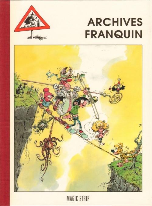 Couverture de (AUT) Franquin -7TL- Archives Franquin