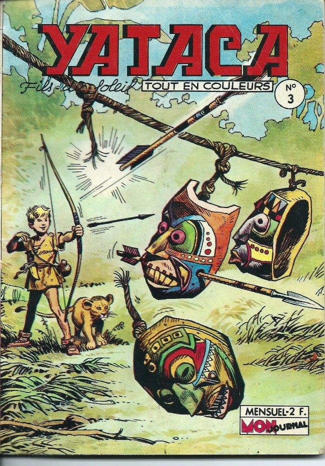 Couverture de Yataca (Fils-du-Soleil) -3- Le pays des hommes bruns