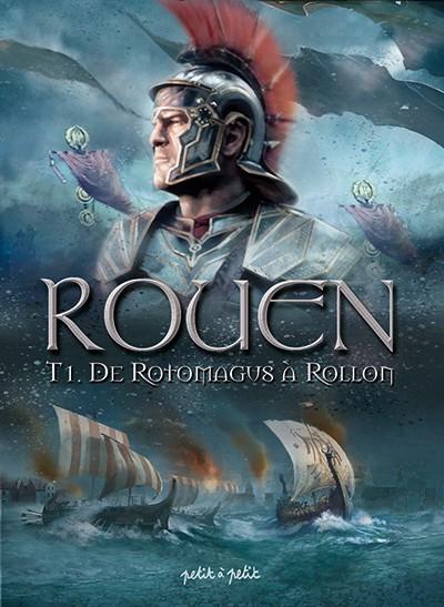 Couverture de Rouen -1- De Rotomagus à Rollon
