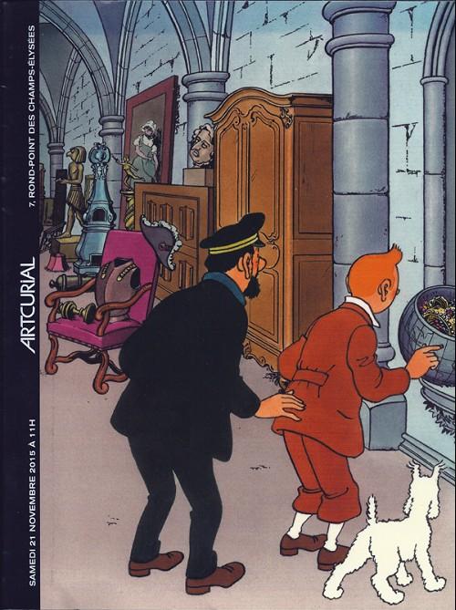 Couverture de (Catalogues) Ventes aux enchères - Artcurial - Artcurial - L'Univers du créateur de Tintin - samedi 21 novembre 2015 - Paris hôtel Dassault